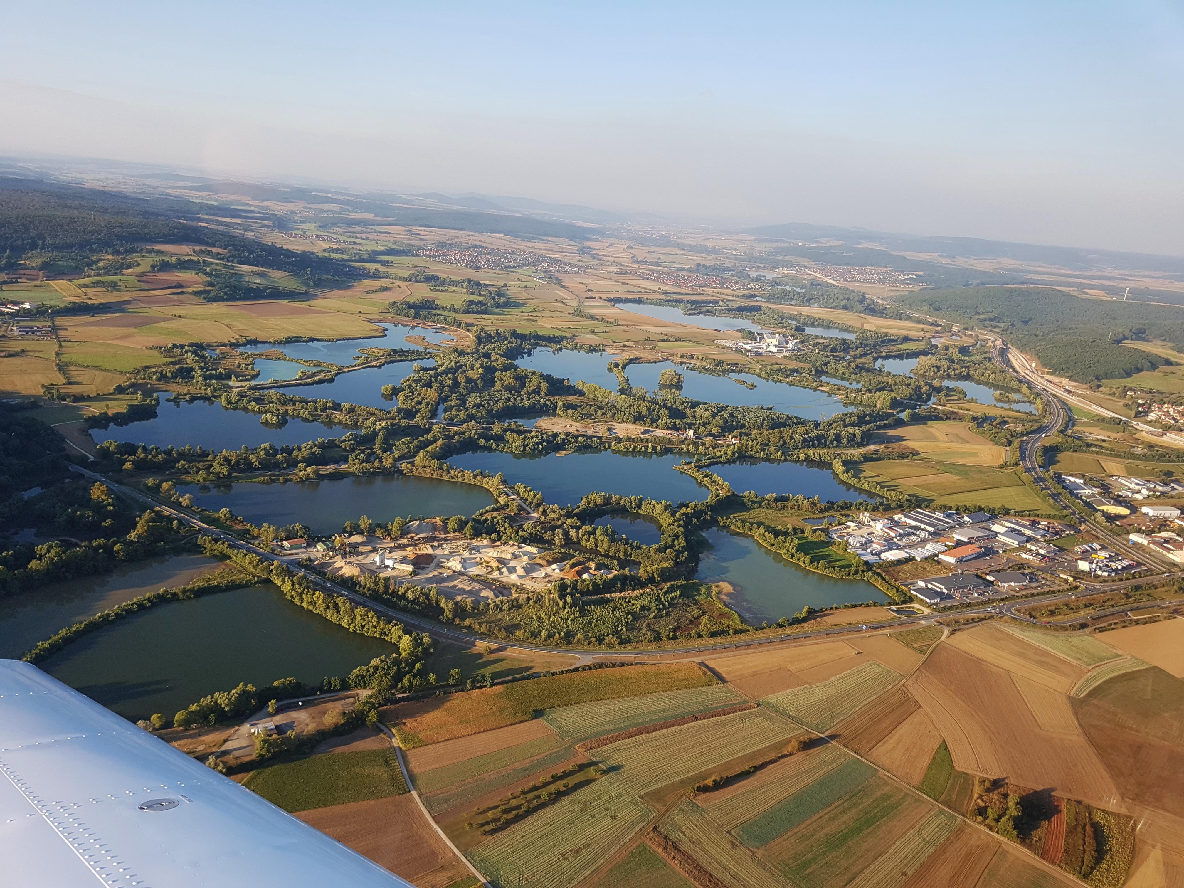 Baggerseen Baunach und Breitengüßbach