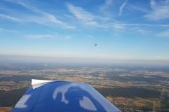Heißluft Ballon bei Reckendorf