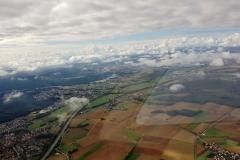 Zwischen den Wolken bei Bamberg