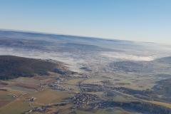 Reckeneusig, Baunach und Breitengüßbach bei Bodenfrost