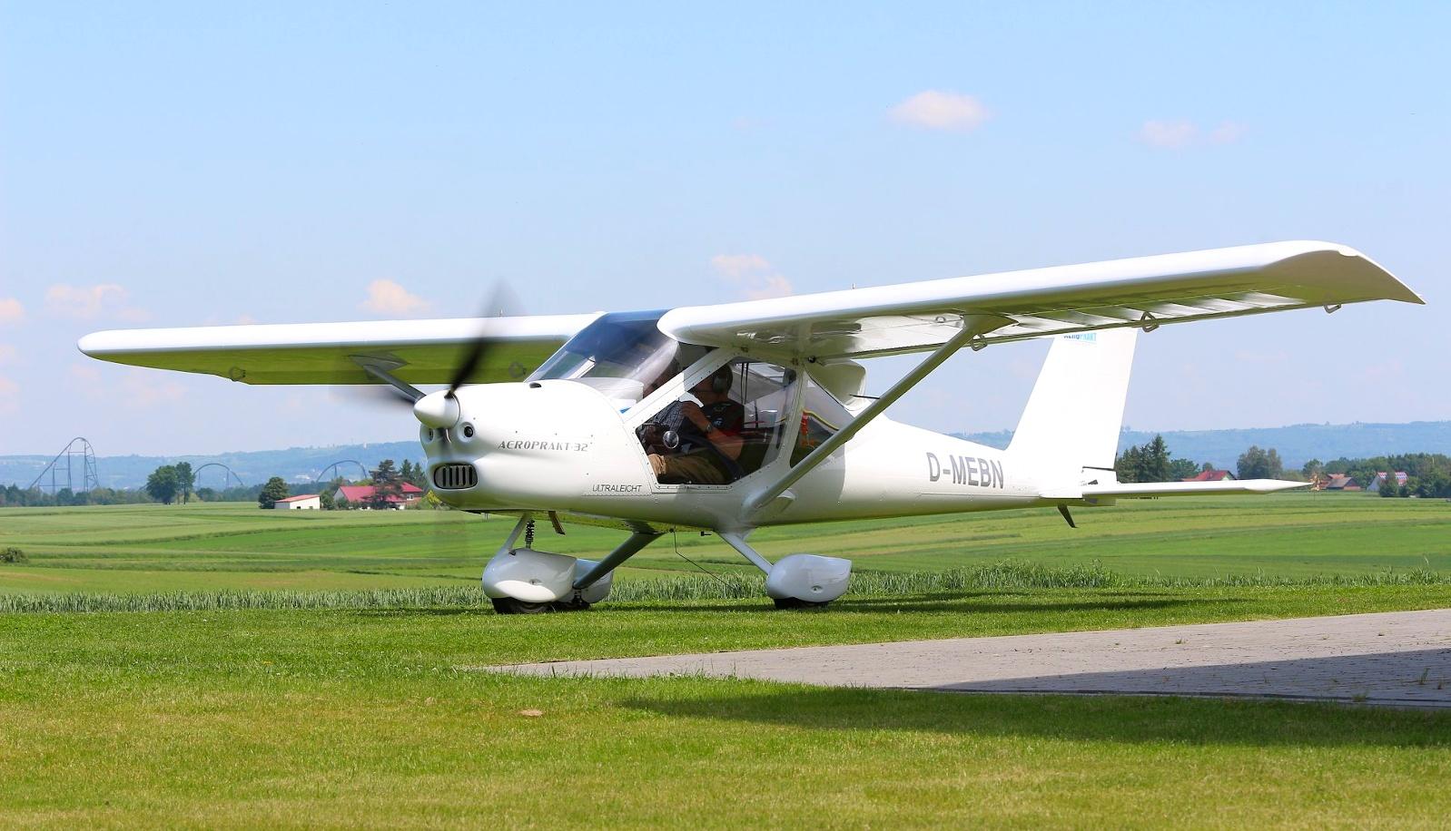 Permalink auf:Vereinsflugzeug Aeroprakt A32
